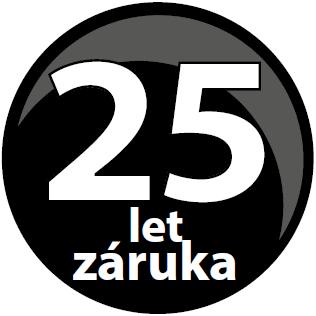 Záruka 25 let