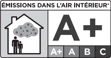 Nízké emise - podlaha zlepšuje kvalitu ovzduší. Kvalita ovzduší je lepší v místnostech, kde byla nainstalována podlaha Par-ky. Pro povrchovou úpravu našich produktů používáme vodou ředitelné mořidla, lepidla bez VOC (těkavé organické sloučeniny) a laky bez rozpouštědel. HDF desky (High Density Fibreboard), používané jako základ našich podlah, jsou toho nejvyššího stupně tvrdosti. Tím si naše podlahy udržují značku kvality A a naše Deluxe+ kolekce dokonce značku A+.