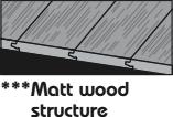 Struktura matně olejovaného dřeva.