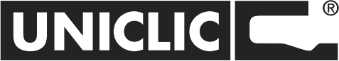 Zámek Uniclic - unikátní zámkový systém. Tento univerzální, patentovaný systém umožňuje podlahu nainstalovat stejně snadno jako laminát a zaručuje perfektní spojení mezi 2 lamelami.