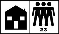 Zátěžová třída 23 - podlahovina vhodná pro nejvíce zatížené obytné prostory(schodiště, vstupní chodby, kuchyně)