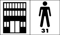 Zátěžová třída 31 - podlahovina vhodná pro komerční prostory s občasným používáním (konferenční místnosti, hotelové pokoje)